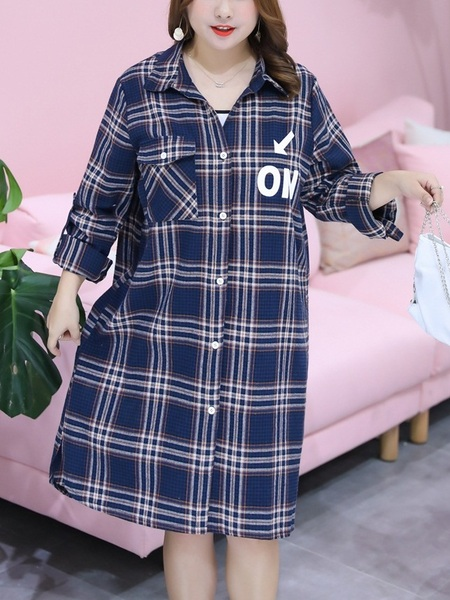 Nonn Checks Tunic Shirt