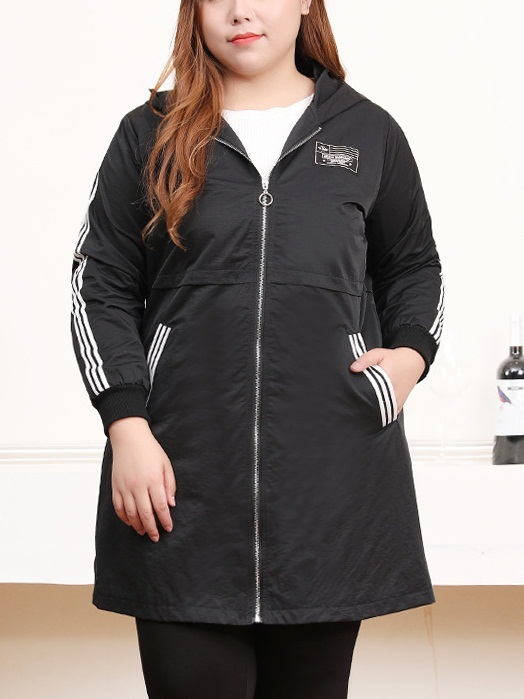 Noa Street Windbreak Tunic Jacket