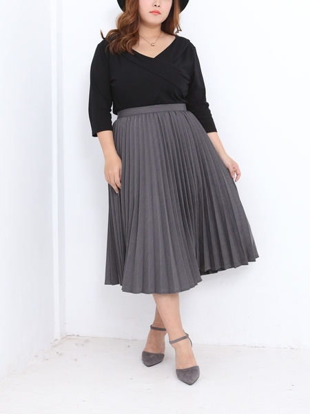 No. 6 Madeline Pleat Skirt  (Ready Stock)