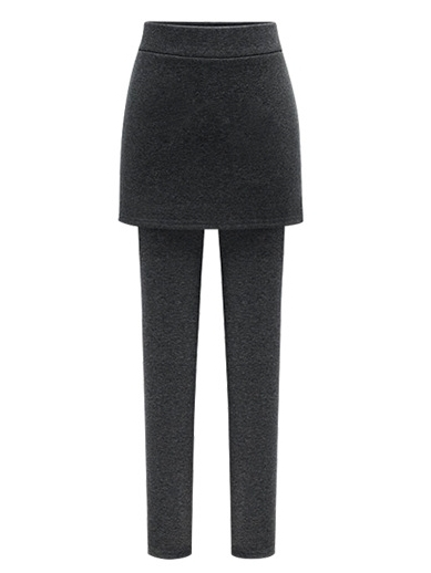 Daryl Fleece Winter Skirt-Tights