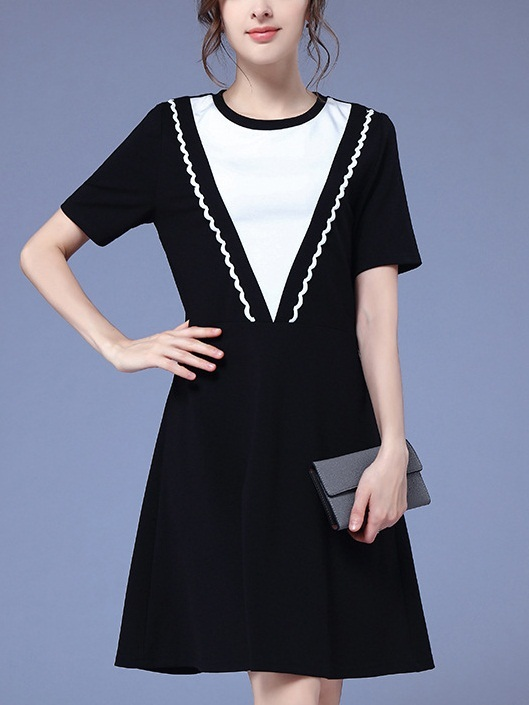 Lilyanna Monochrome Dress