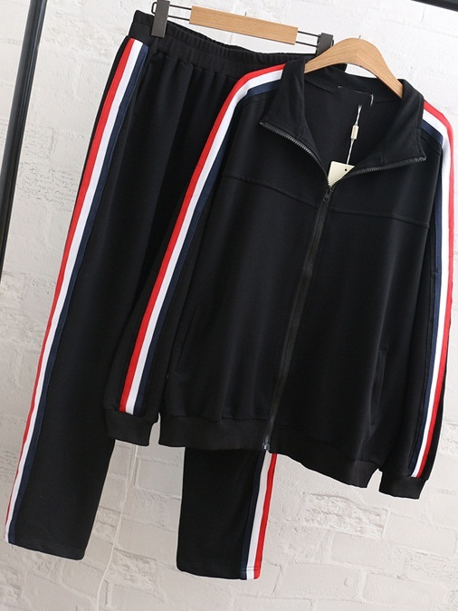 Lyndsay Tracksuit Hoody Jacket and Pants Set (EXTRA BIG)