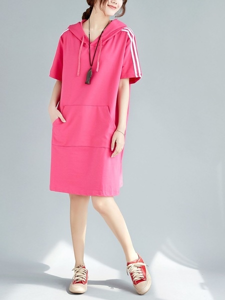 Luzi Hoody Stripe Dress (EXTRA BIG)