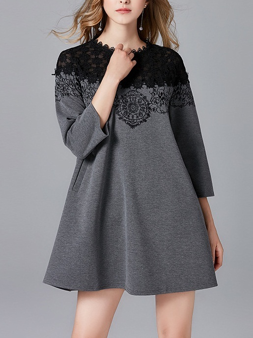 Maeryn Lace Layer Babydoll Dress