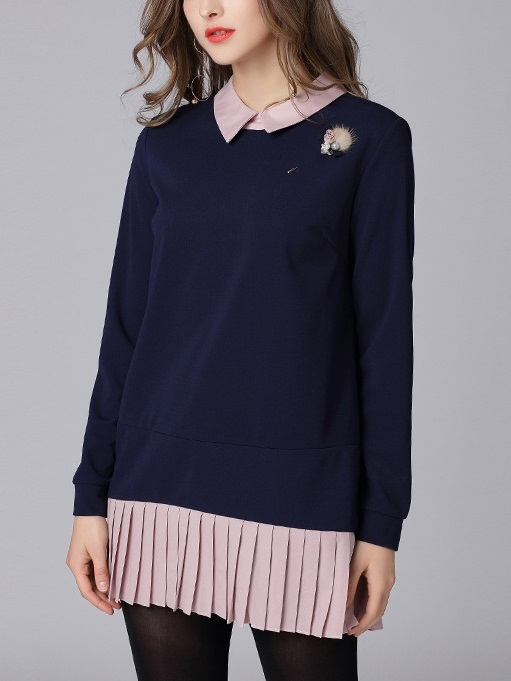 Maerin Pleat Shirt Blouse