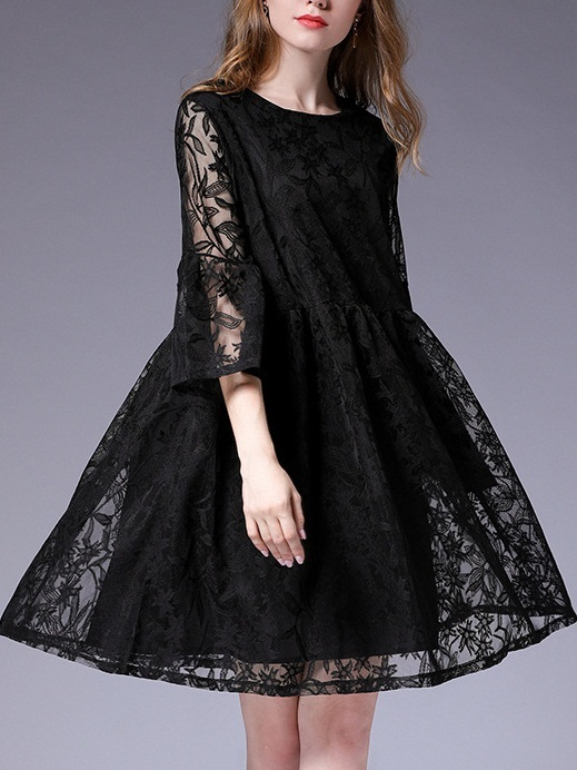 Maisyn Lace Babydoll Dress