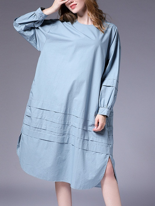 Maizy Curve Tier Loose Dress