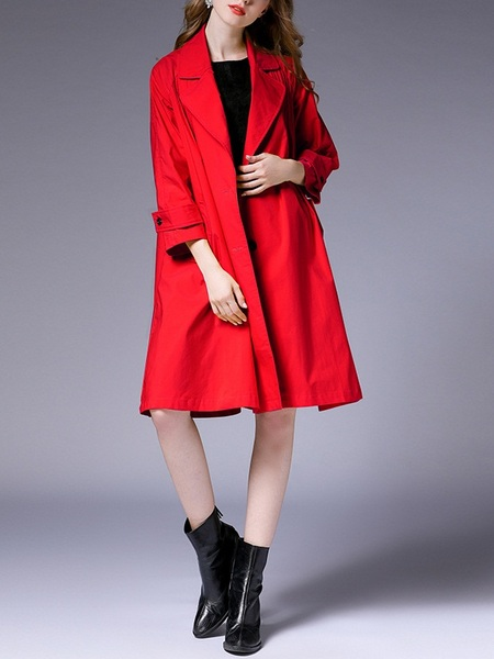 Majandra Trench Coat Jacket