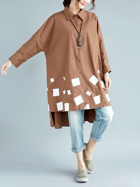 Malana Shapes Longer Back Shirt