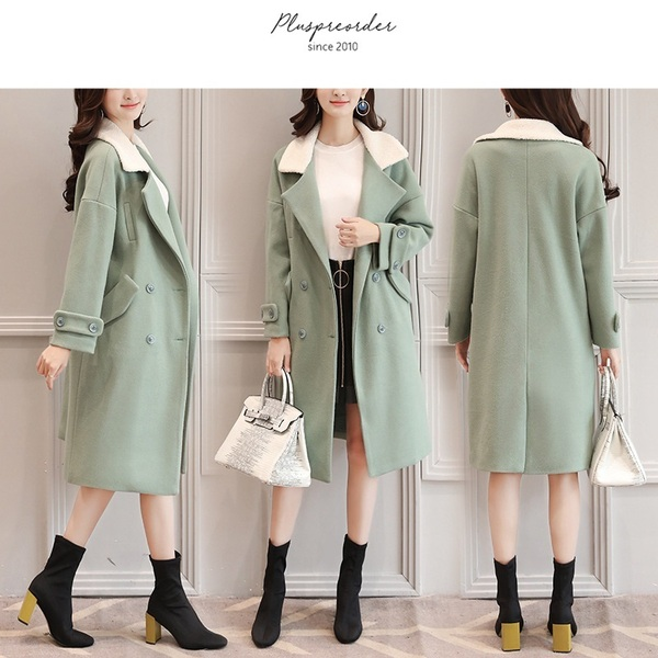 Mandalay Contrast Blazer Tunic Winter Coat Jacket