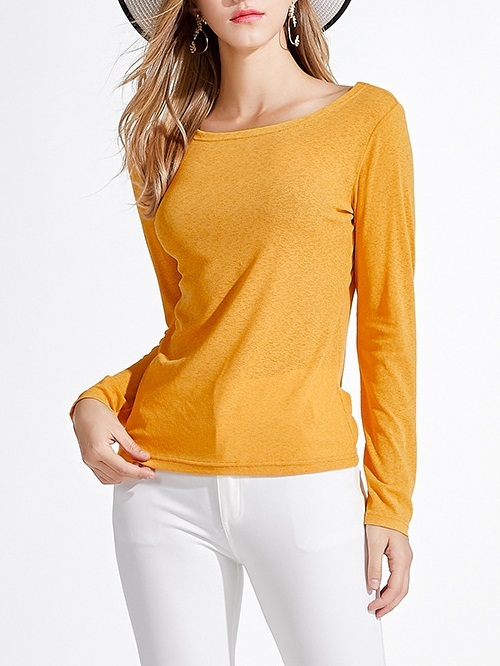 Manuella Knit Boat-neck L/s Top