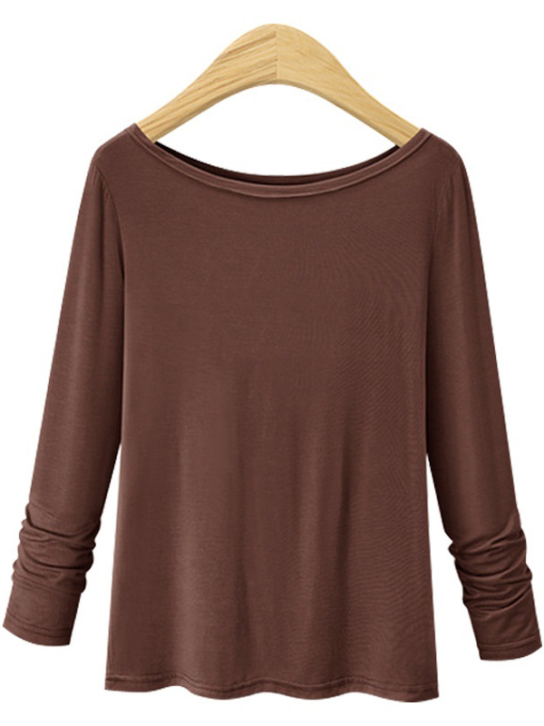 Marie Boatneck L/s Knit Top