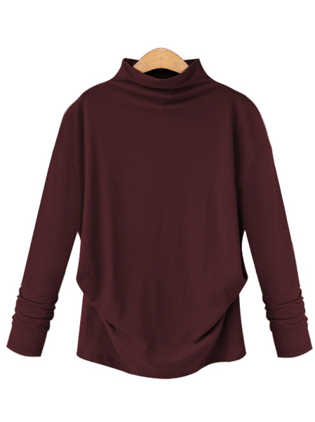 Marie-Ève Turtle-neck L/s Top