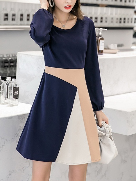Maria Colourblock Dress
