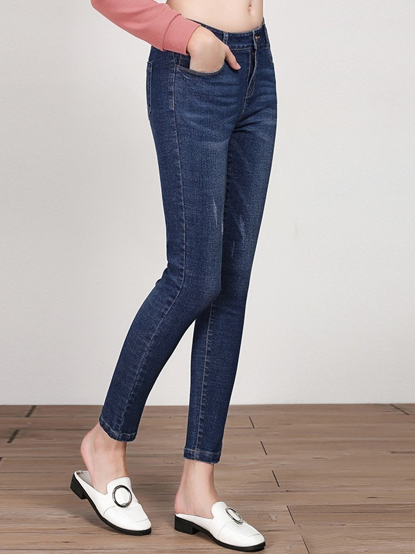 Marie-Josée Skinny Denim Pants