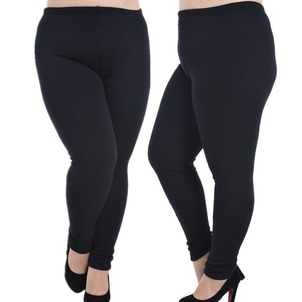 Fleece-inside Winter Tights Pants (EXTRA BIG SIZE)