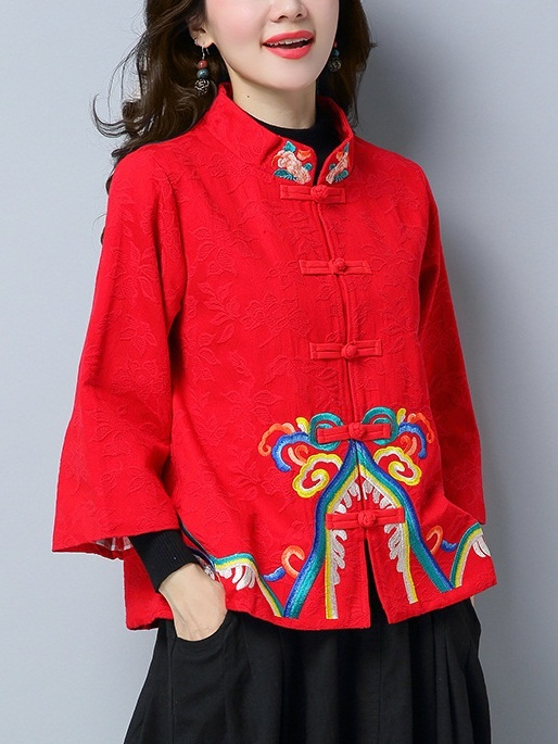 Marvina (Bust 104-116CM) Oriental Qipao Jacket