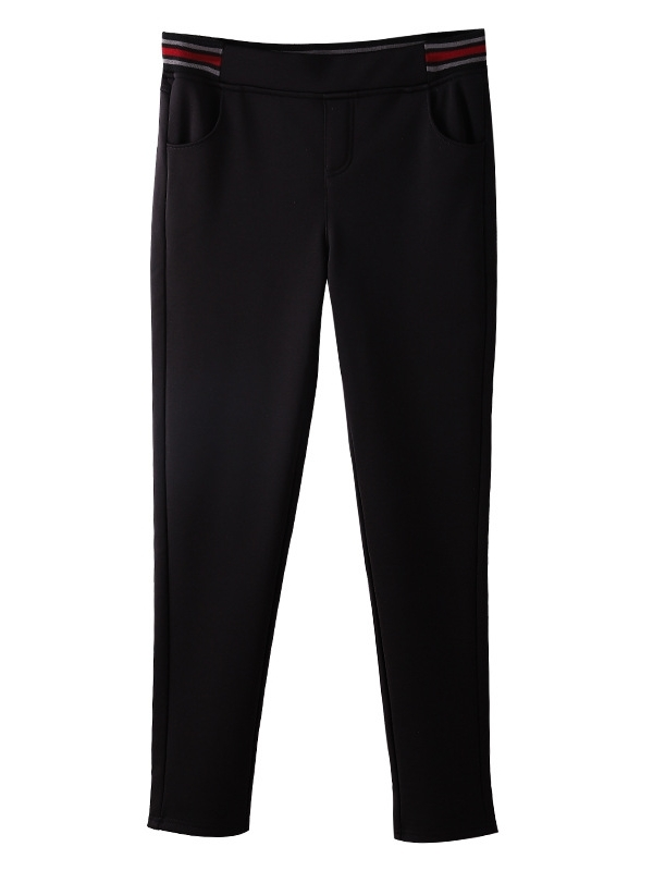 Malex Fleece-inside Stretchband Pants (EXTRA BIG)