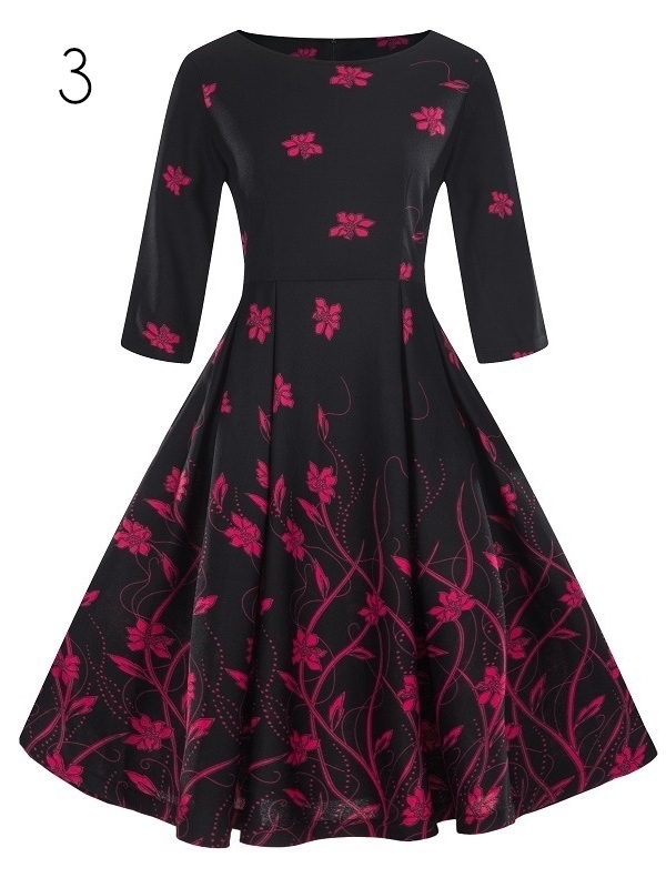 Pattern Swing Dress (9 Patterns)