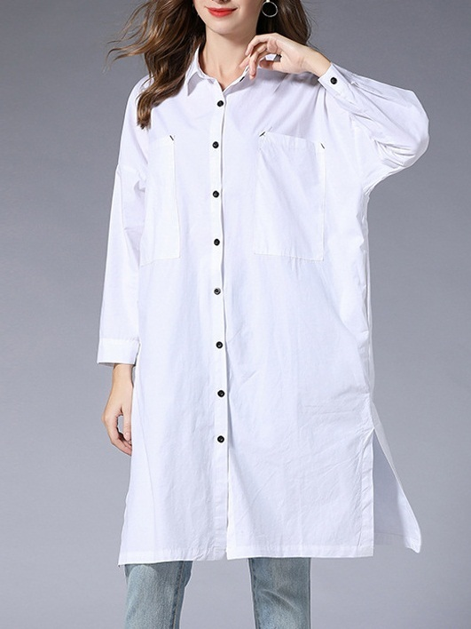 Metzli Pure Cotton Long Shirt