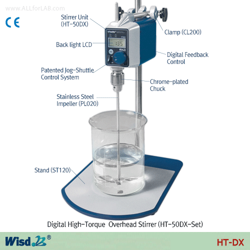 Daihan High Torque Digital Stirrer
