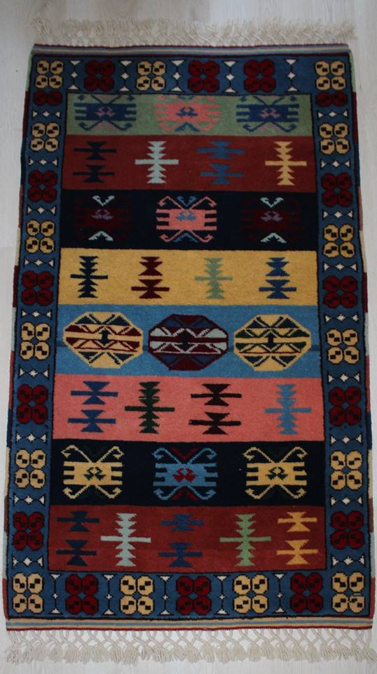 Turkish Sivas Vegetable Dye Handmade Wool Rugs
