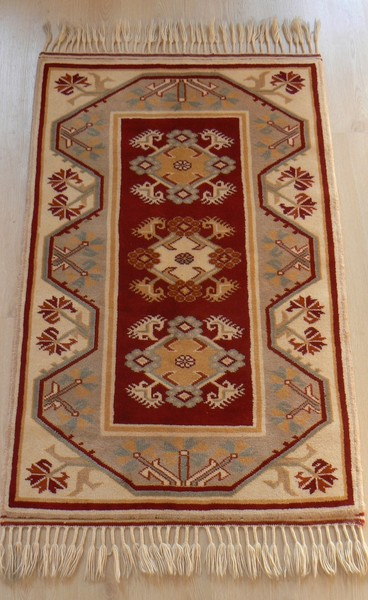 Turkish Milas Vegetable Dye Hand-knotted Wool Rugs