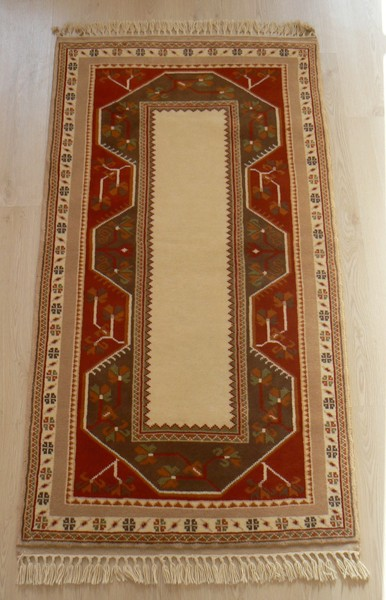 Turkish, Milas Runner Rug