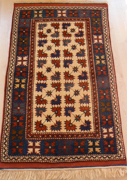 Turkish, Ayvacik. Vegetable Dye Rare Handmade Rug