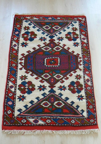 Turkish, Ayvacik Handmade Vegetable Dye Rug