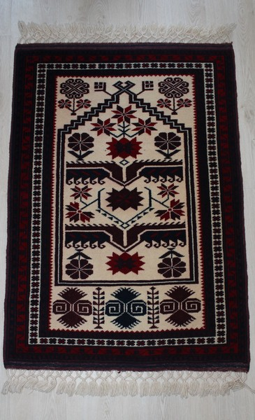 Turkish, Yagcibedir Natural Dyed  Handmade Rug