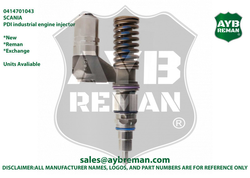 0414701092 Brand New Diesel Fuel Injector for Scania Engine
