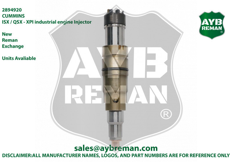 2894920 Diesel Fuel Injector for Cummins XPI Engines