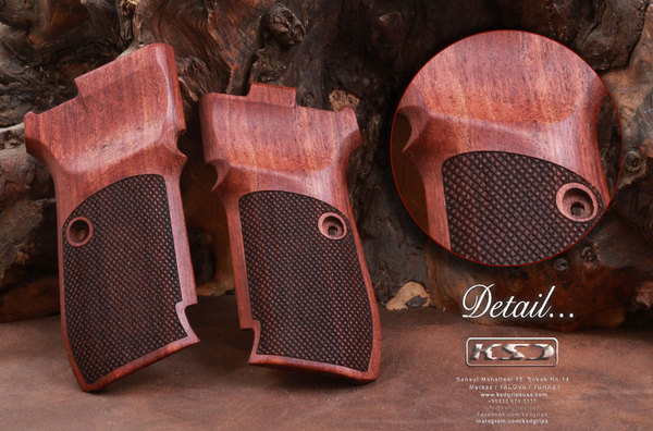 Cz 82 83 Rosewood Grips
