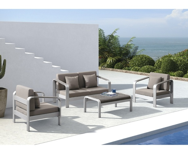 SMB-SMMT-Lounge Set Metal (1pcs 2 Seater+2 pcs 1 seater+1 coffee table)