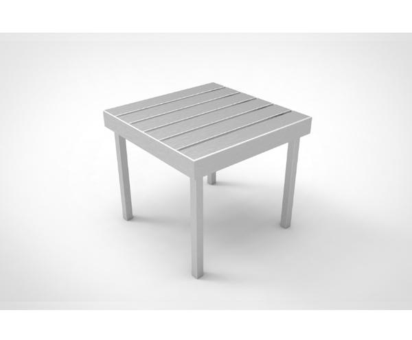 PPT-WVE-ST-Side Table Polyproplene 42x42x36,5cm