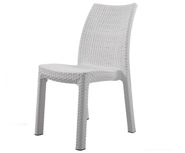 NVS-R011 Rattan Looking Injection Armchair