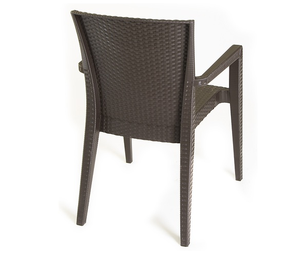 NVS-R006 Rattan Looking Injection Armchair