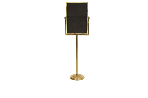 BNK-1831-Single leg guidance panel Brass or Stainless Steel
