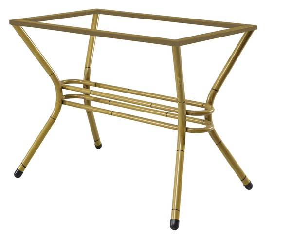 SMB-BUS-Bamboo Look Table Leg Double