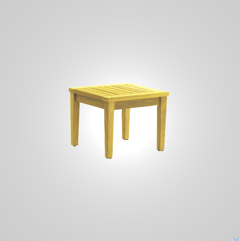 SST-066-Ocean Plastic Side Table