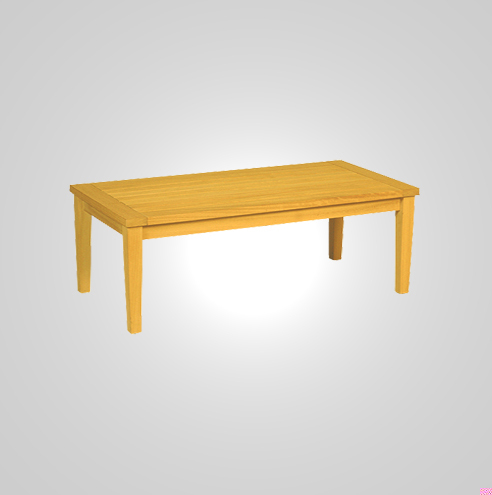 RYG-3563-Side Table Ireko Wood 55x55x43h