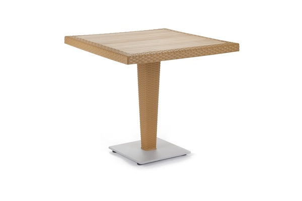 SST-890-Riva Table Leg Rattan Looking Injection