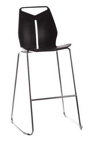 TLL-MX-Bar Chair PC-PP Metal Legs