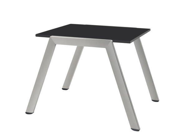 PPT-ZN-ST-Side Table Stainless Steel Frame Compact Laminate Top