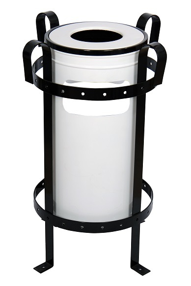 NEO-A-310-Square Roof Rubbish Bin