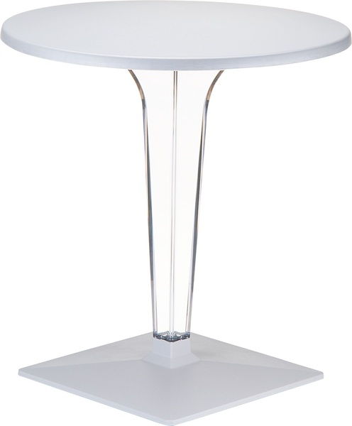 SST-550-Ice Square Table 60*60 Werzalit&Polycarbonate