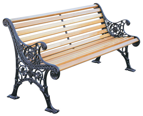 PRK-PG7060-Aluminum Garden Bench with arms