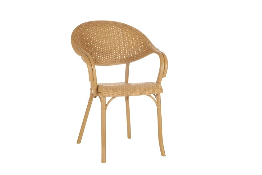 TLL-ANTRS-AC-Armchair Rattan Looking Injection