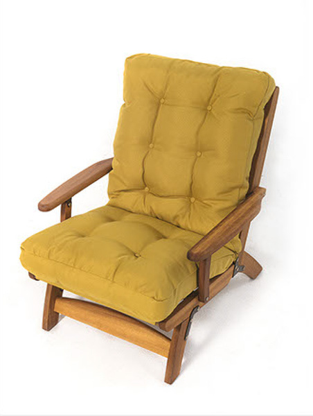 INT-CMF-D-300 Loungechair made from Iroko wood